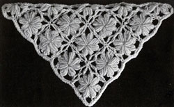 Marguerite Shawl Pattern swatch