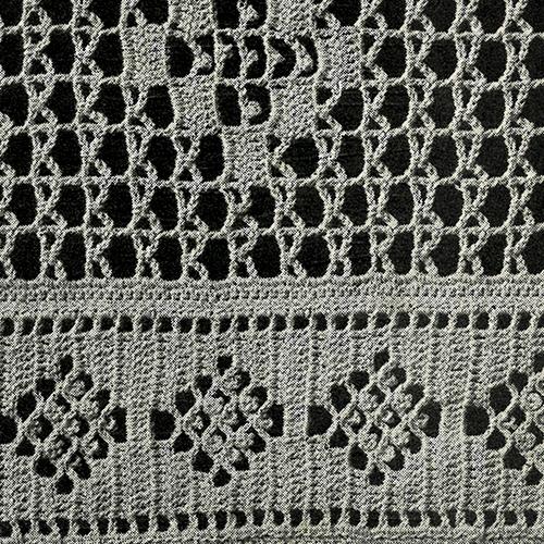 Lacet Stitch Bedspread