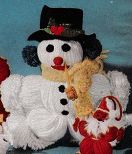 Snowman Ornament Pattern