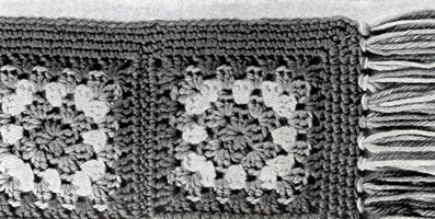 Granny Afghan Pattern swatch