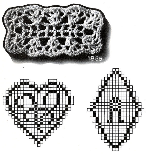 Filet Crochet Medallions Patterns 2