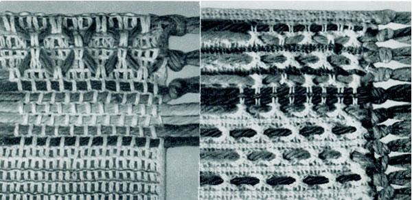 Woven Dish Cloth Mats Pattern Chart