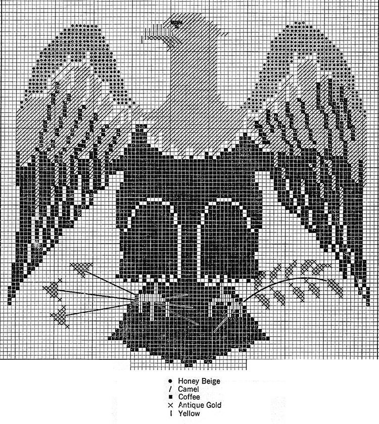 The Eagle Afghan Pattern