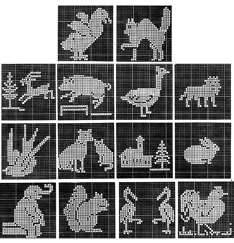 Land of Nod Bedspread Pattern #3412