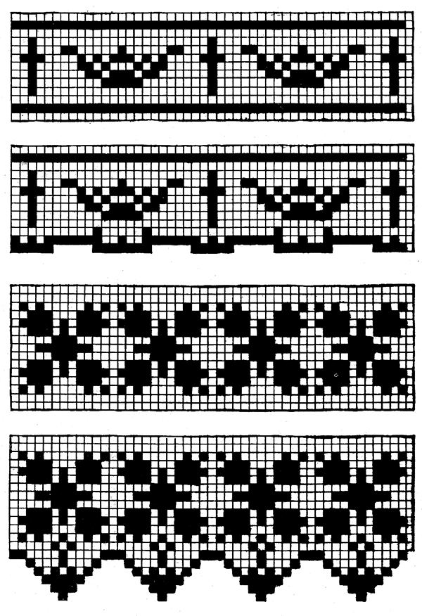 Church Laces Edgings and Insertions Patterns