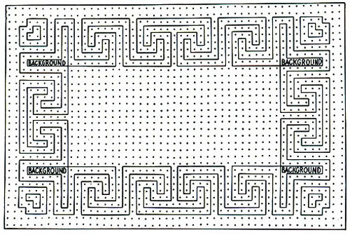 Classic Rug Pattern Chart