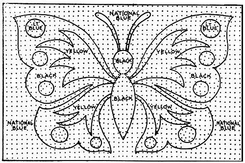 Monarch Rug Pattern Chart