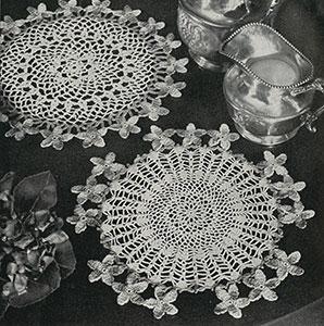 Violet Doily Pattern