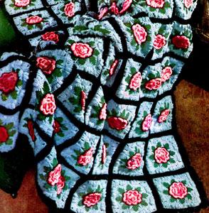 Charleston Garden Afghan Pattern