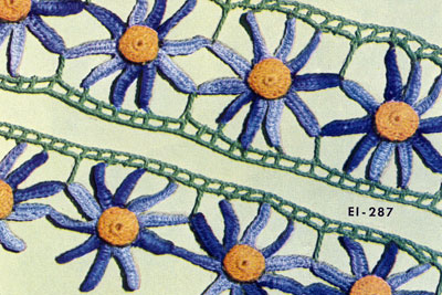 Aster Edging & Insertion Pattern