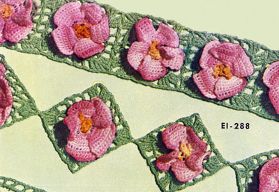 Apple Blossom Edging & Insertion Pattern