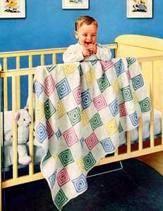 Sugar 'n Spice Baby Blanket Pattern