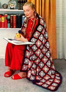 Americana Afghan Pattern