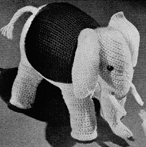 Toy Elephant Pattern #606