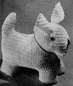Crocheted Dog Pattern #608