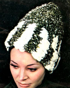 Crochet Hat Pattern #2157