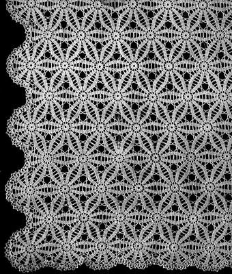 Poinsettia Bedspread Pattern