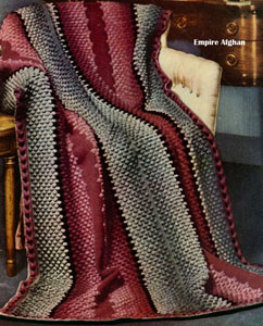 Empire Afghan Pattern