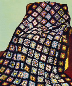 Suzies Stuff: RECTANGLE GRANNY AFGHAN PATTERN