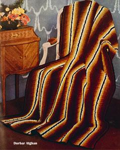 Durbar Afghan Pattern