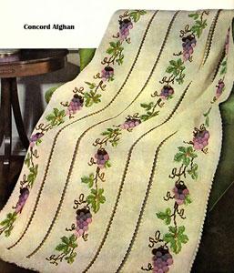 Concord Afghan Pattern