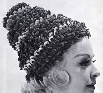 Crocheted Loop Hat Pattern