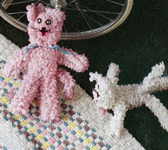 Cuddle Cat Toy Pattern