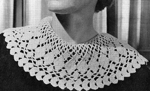 Sea Foam Collar Pattern #2146