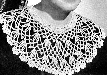 Chiming Bells Collar Pattern #2148