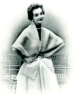 Crocheted Cape Stole Pattern