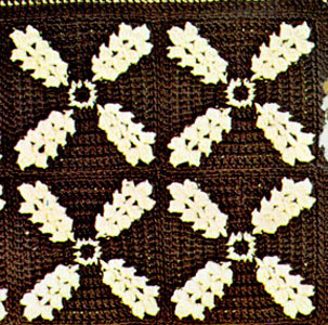Golden Grain Afghan Pattern