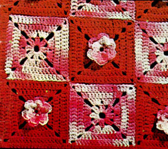 Rose Trellis Afghan Pattern