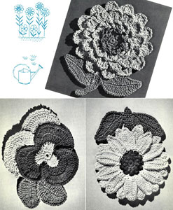 Garden of Pot Holders Pattern