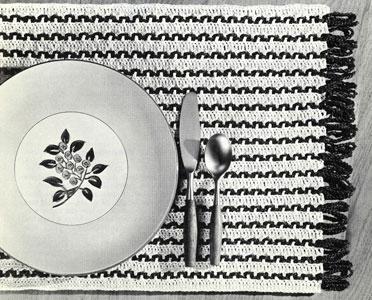 Weave-a-Mat Pattern