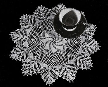 Day Dream Doily Pattern #7318