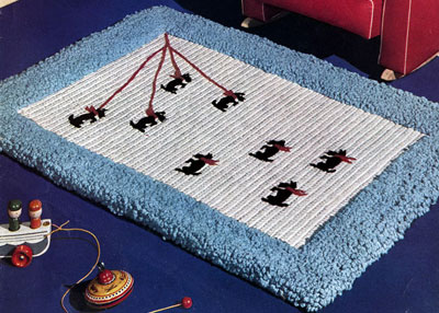 Scotty Rug Pattern