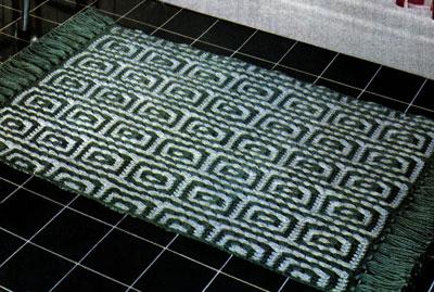 Mosaic Rug Pattern