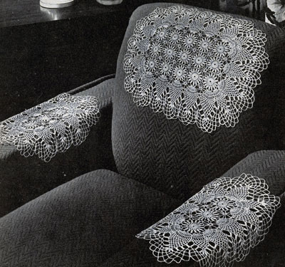 Pineapple Chair Set Pattern #7856