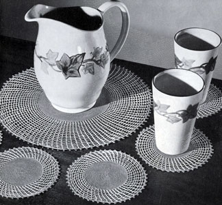 Lemonade Luncheon Set Pattern