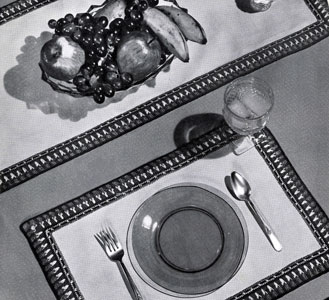 Luncheon Set Edging Pattern