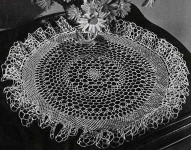 Sea Froth Doily Pattern
