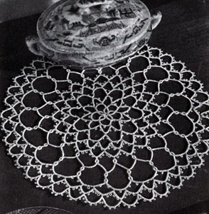 Saturn Ring Doily Pattern