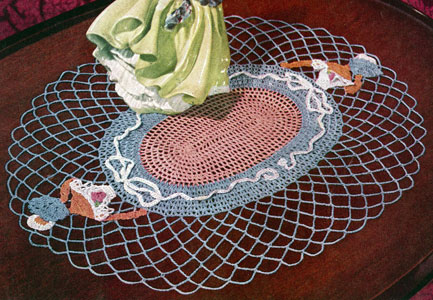 Lady Fair Doily Pattern