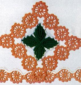 Floral Gem Motif Pattern