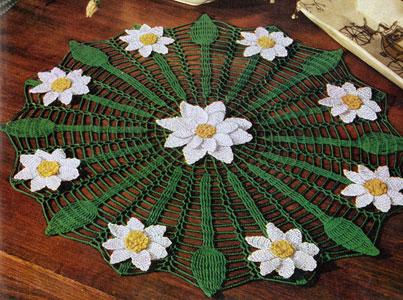Daisy Web Doily Pattern