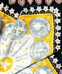 Zodiac Handkerchief Edging Pattern