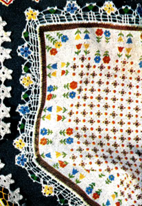 Flower Handkerchief Edging Pattern