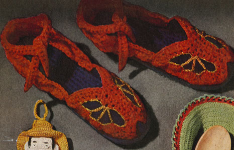 Television Slippers Pattern