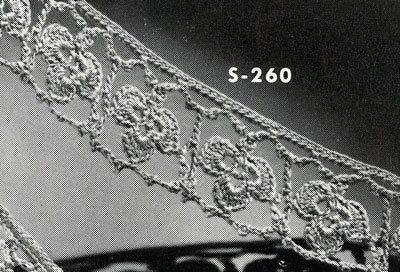 Irish Crochet Edging No. S260 Pattern