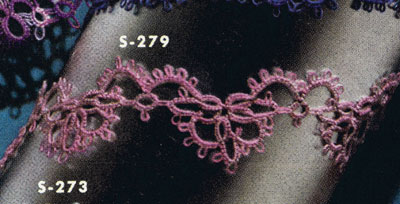 Tatted Edging No. S279 Pattern